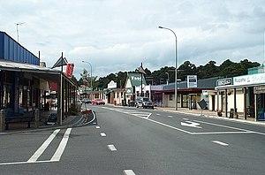 Ohakune - Main street of Ohakune