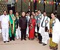 Nafis Fathima with President.jpg