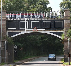 Grade II* listed buildings in Cheshire East - Image: Nantwich Aqueduct Cheshire 2