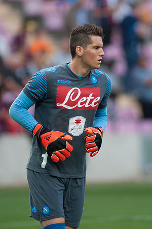 Rafael Cabral - Rafael with Napoli in 2014