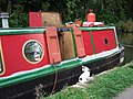 Narrowboat cat, Oxford canal - geograph.org.uk - 289758.jpg