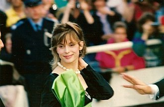 Nastassja Kinski - Kinski at the 1990 Cannes Film Festival