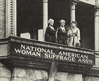 National American Woman Suffrage Association organization