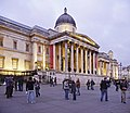 National Gallery, Trafalgar Square, London W1 - geograph.org.uk - 1099680.jpg