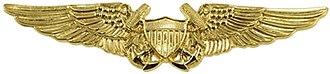 Naval flight officer - The warfare designation insignia of a naval flight officer