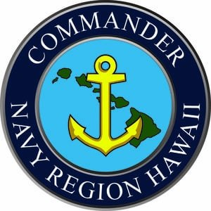 Navy Region Hawaii - Command insignia of Navy Region Hawaii
