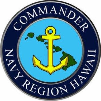 Navy Region Hawaii - Command insignia of Navy Region Hawaii