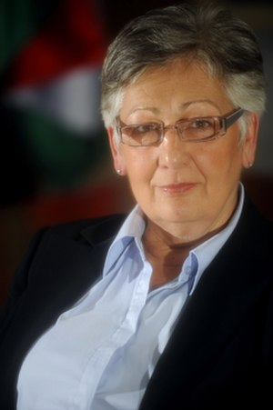 Zsuzsanna Németh - Image: Nemeth Laszlone Portrait