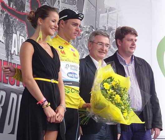Neufchâteau - Tour de Wallonie, étape 3, 28 juillet 2014, arrivée (E19).JPG