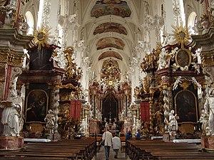 Neuzelle - Abbey Church interior