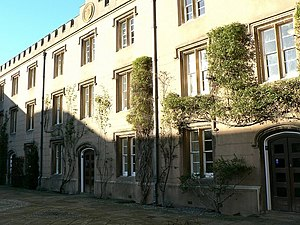 Emmanuel College, Cambridge - New Court which was built in 1824–25
