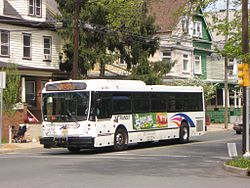 New jersey transit bus service to new york city