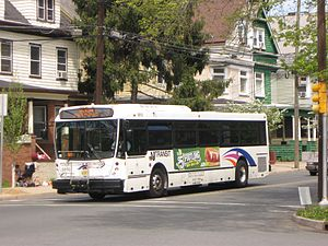 NJ Transit Bus Operations - Image: New Jersey Transit NABI 416 transit