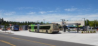 C-Tran (Washington) - The new Vancouver Mall Transit Center opened in 2017, replacing a previous transit center at the mall.