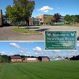 Newstead Wood School Girls grammar school in Orpington, Kent, England