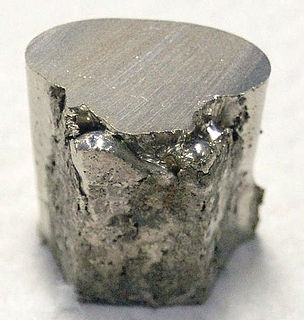 Nickel Chemical element with atomic number 28