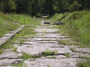 Nicopolis ad Istrum - Image: Nicopolis ad Istrum street