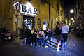 Night life at Trastevere, Rome - 3351.jpg