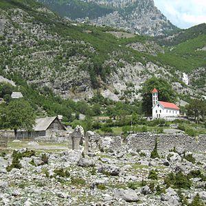 Kelmendi (tribe) - Catholic church in Nikç.