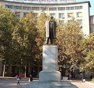Nikola Pašić - Monument to Nikola Pašić, Nikola Pašić Square, Belgrade
