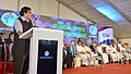 Nitin Gadkari addressing at the ground breaking ceremony of the Vizhinjam International Deepwater Multipurpose Seaport project, at Vizhinjam, in Thiruvananthapuram, Kerala on December 05, 2015.jpg