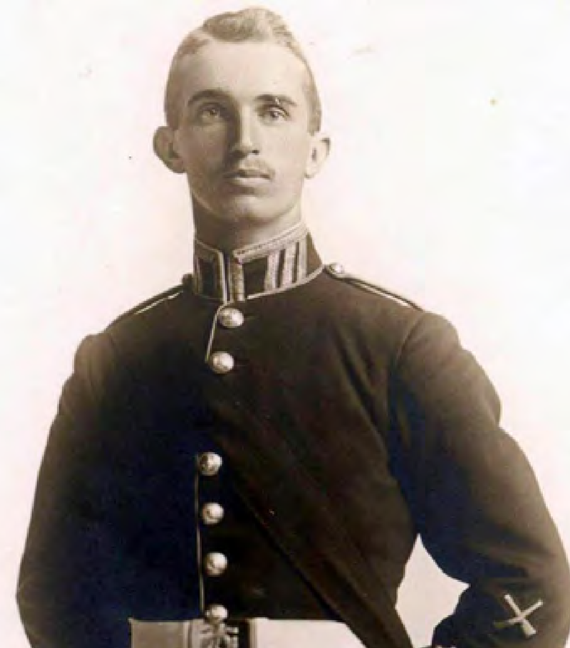 No 841 Lieutenant Alexis Helmer of the RMC Class of 1912.png