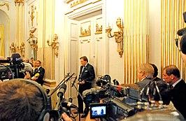 Bekendmaking Nobelprijs voor Literatuur in 2008