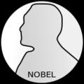 Nobel prize medal grey.png