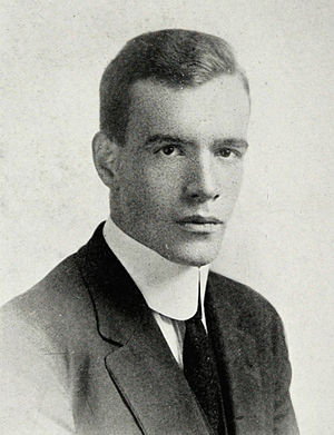 Norman C. Paine - Paine pictured in The Round-Up 1914, Baylor yearbook