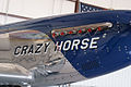 North American TP-51D-30-NA Mustang Crazy Horse 2 RSideNoseArt Stallion51 11Aug2010 (14983529342).jpg