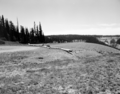 North view on the rim road at Cedar Breaks National Monument, before the 1960 construction project. Taken as a record of the (3f0243a8a49642c3b0063578f81adadb).tif