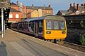 Northern Rail Class 142, 142005, Wigan Wallgate railway station (geograph 4512909).jpg