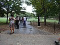 Not so closed Vietnam Veterans Memorial; Washington, DC; 2013-10-06.JPG