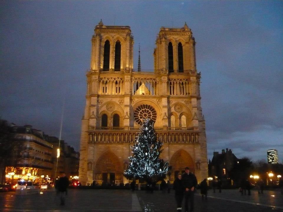 NotreDame v Paříži