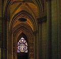 Notre Dame V (REIMS-CATHEDRAL-INTERIOR-STAINED GLASS) (930283374).jpg