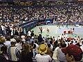 Novak posle pobede u osmini finala Rodzers kupa u Torontu 2008.JPG