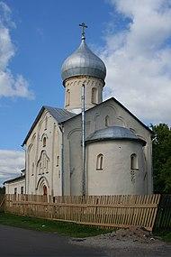 Novgorod - Church of John the Apostle on Vitka.jpg