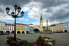Novy jicin central square.jpg