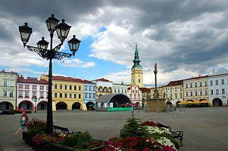 Nový Jičín - Masaryk Square