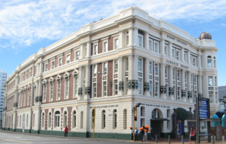 New Zealand Academy of Fine Arts - Current home of the Academy, the  Wharf Offices building
