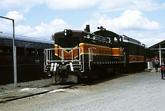 Oregon, Pacific and Eastern Railway - Image: OP&E 602