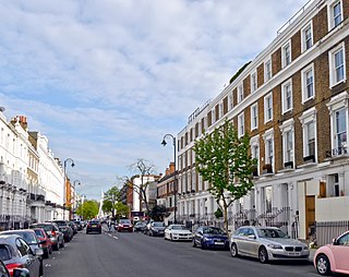Oakley Street, Chelsea street in the Royal Borough of Kensington and Chelsea