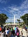 Obelisco del Paseo Los Próceres, Paseo de los Precursores.jpg