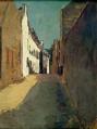Odilon Redon - Rue à Douarnenez.png