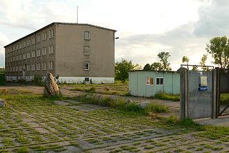 Border Troops of the German Democratic Republic - Former Grenztruppen accommodation in Oebisfelde.