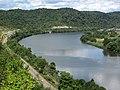 Ohio River (north of Powhatan Point, Ohio, USA) 3 (29221325243).jpg