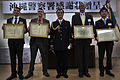 Okinawa prefectural police, Marine investigators express appreciation for keeping Okinawa safe 150220-M-DM081-003.jpg