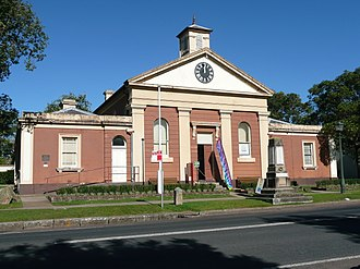 Morpeth, New South Wales - Image: Old Court House