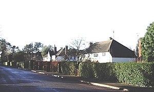 Compton, Waverley - Image: Old Compton Lane, Farnham geograph.org.uk 294946