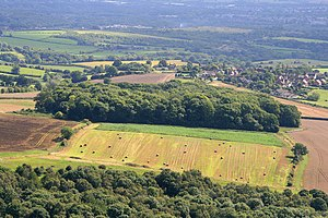 Little Wenlock - Image: Old Quarry Plantation and Little Wenlock geograph.org.uk 2069988